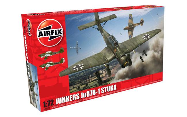 Junkers Ju87 B-1 Stuka 1:72 Scale Model Kit