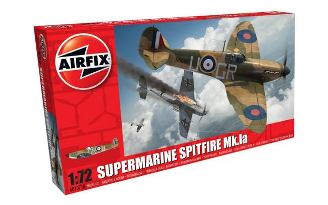 Supermarine Spitfire Mk.Ia 1:72 Scale Model Kit