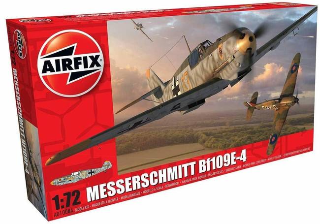 Messerschmitt Bf109E-4 1:72 Scale Model Kit