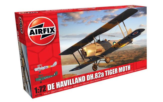 De Havilland DH.82a Tiger moth 1:72 Scale Model Kit