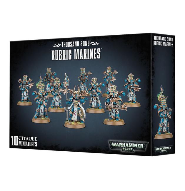 43-35 Thousand Sons Rubric Marines