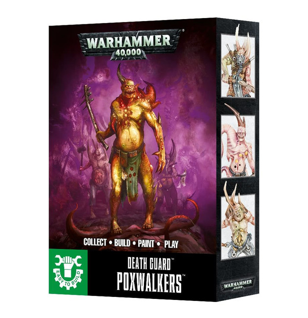 43-41 Easy to Build: Death Guard Poxwalkers