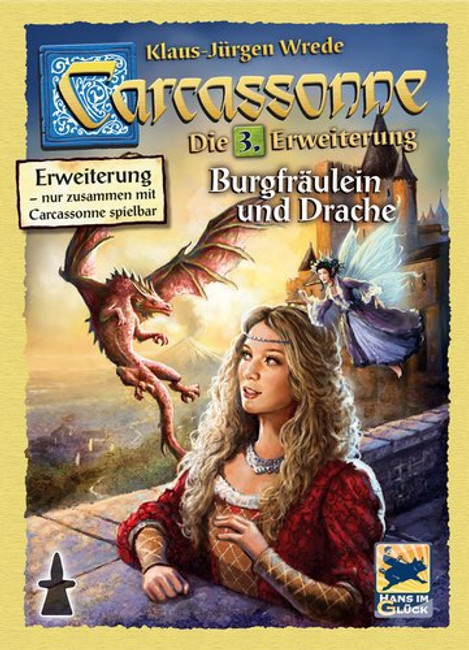 Carcassonne Princess and the Dragon