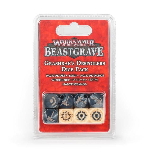 110-65 WHU Beastgrave: Grashrak's Despoilers Dice Pack