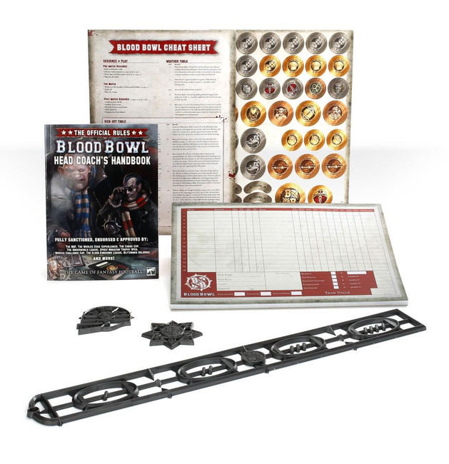200-72-60 Blood Bowl: Head Coach's Rules & Accessories Pack