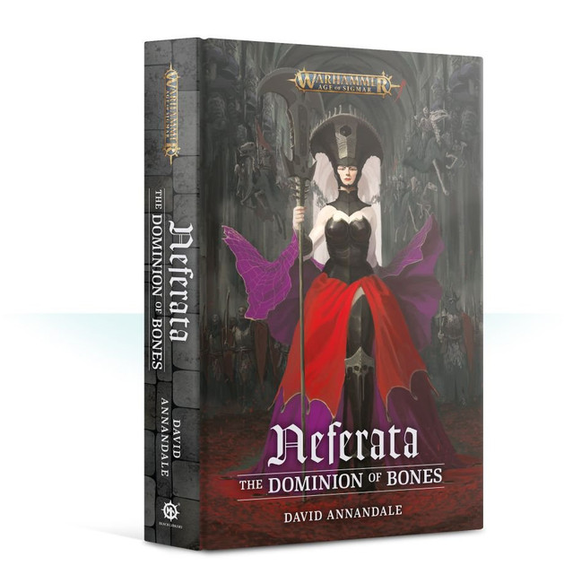 BL2767 Neferata: The Dominion of Bones HB