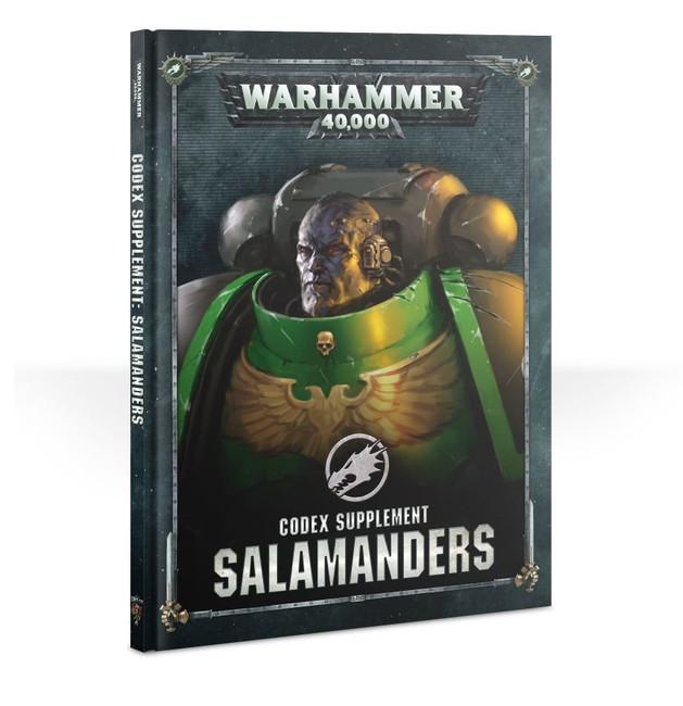 55-07 Codex: Salamanders Supplement HB
