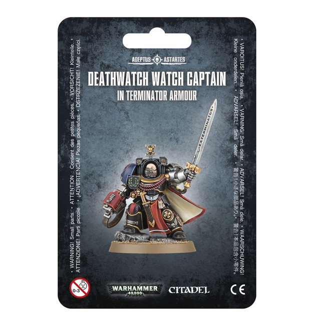 39-23 Deathwatch Captain with Terminator Armour