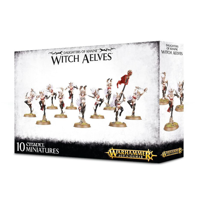 85-10 Daughters of Khaine Witch Aelves