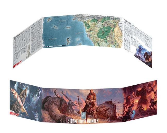 D&D: Storm King's Thunder: DM Screen