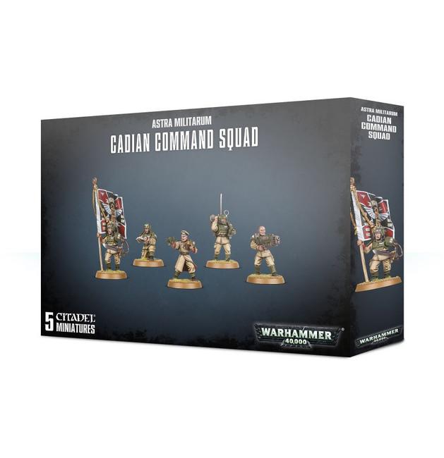47-09 Astra Militarum Cadian Command Squad