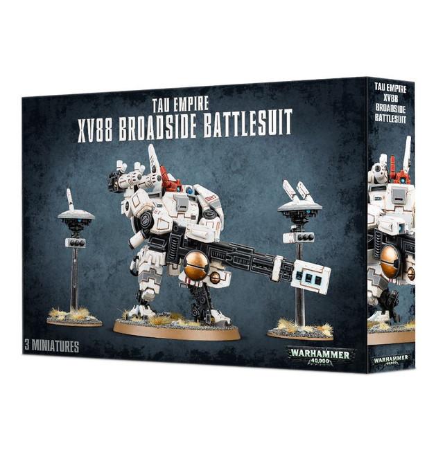 56-15 Tau Empire XV88 Broadside Battlesuit 2017