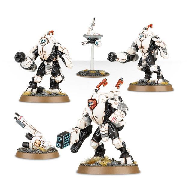 56-14 Tau Empire Stealth Battlesuits 2017