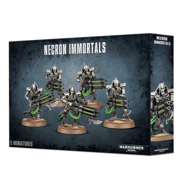 49-10 Necron Immortals/Deathmarks 2017