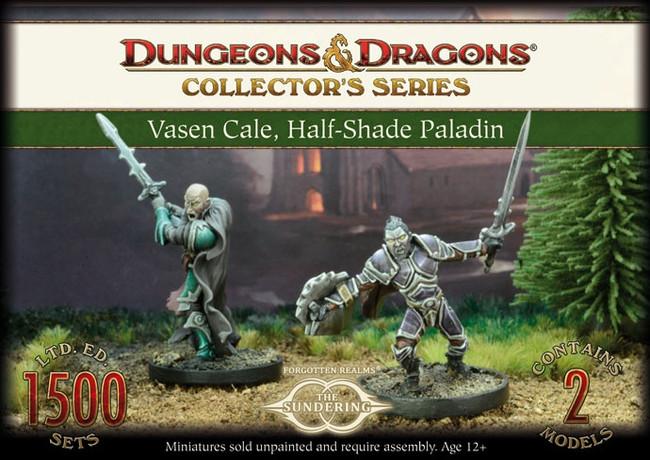 D&D Vasen Cale - Half Shade Paladin