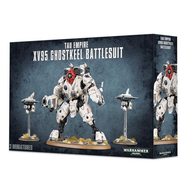 56-20 Tau Empire XV95 Ghostkeel Battlesuit 2017