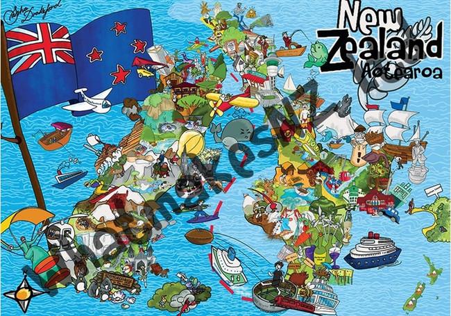 Aotearoa Awesome 1000pc Puzzle