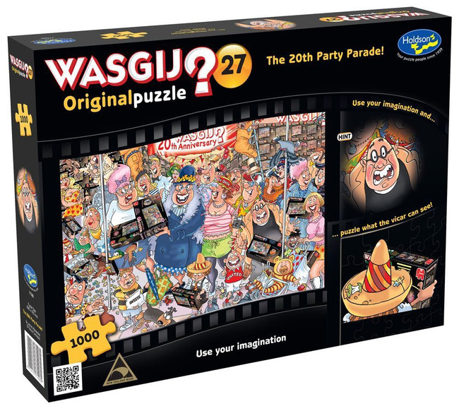 Wasgij? #27 Original Puzzle 1000pc - The 20th Party Parade!