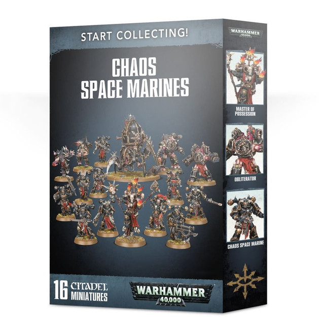70-40 Start Collecting! Chaos Space Marines