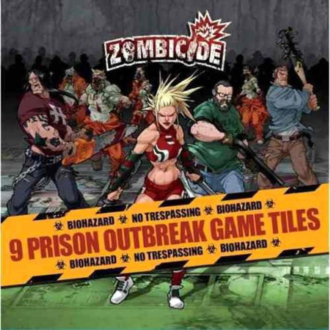 Zombicide Prison Outbreak Tile Set