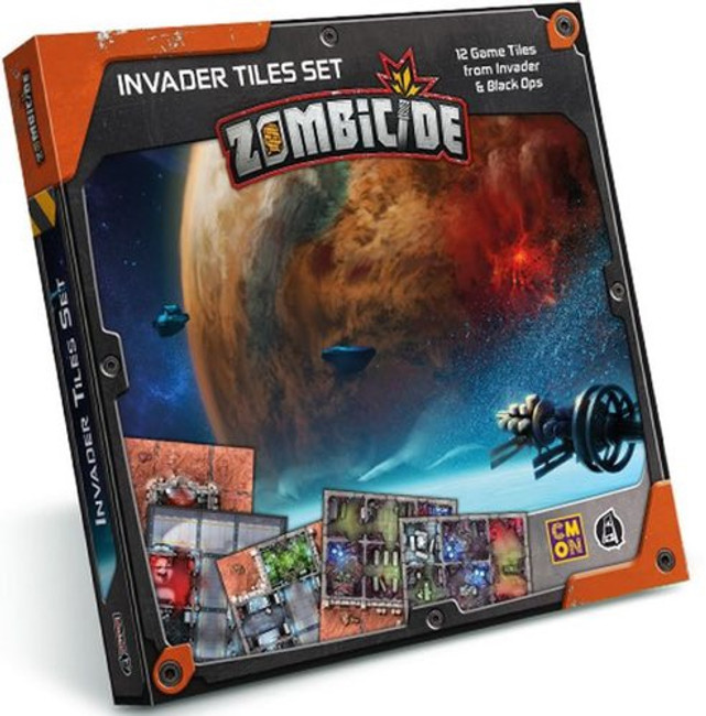Zombicide Invader Tile Set