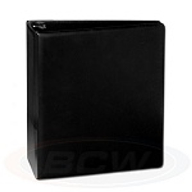 BCW 3x Ring Binder Black