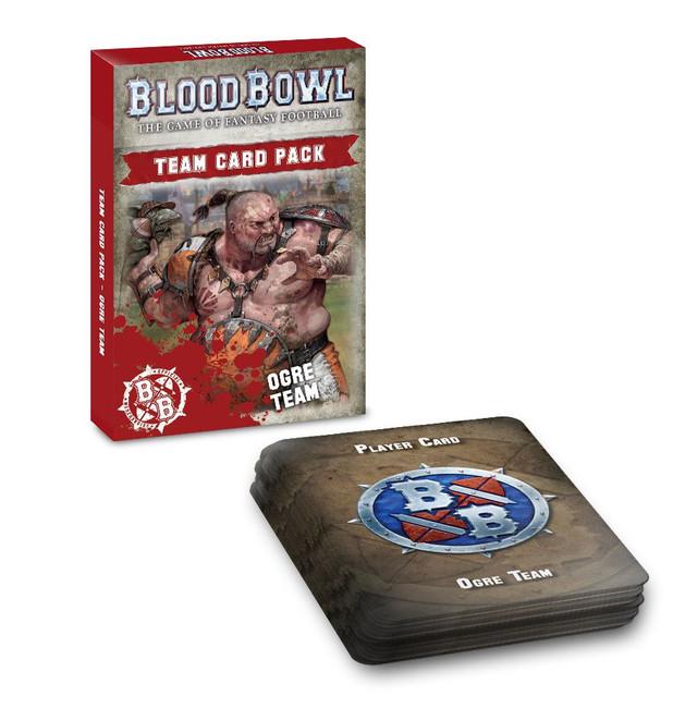 200-84 Blood Bowl: Ogre Team Card Pack