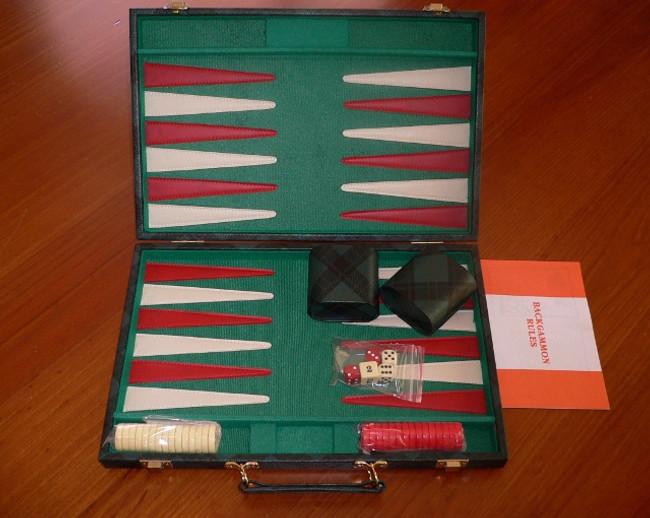 Backgammon Set Leatherette