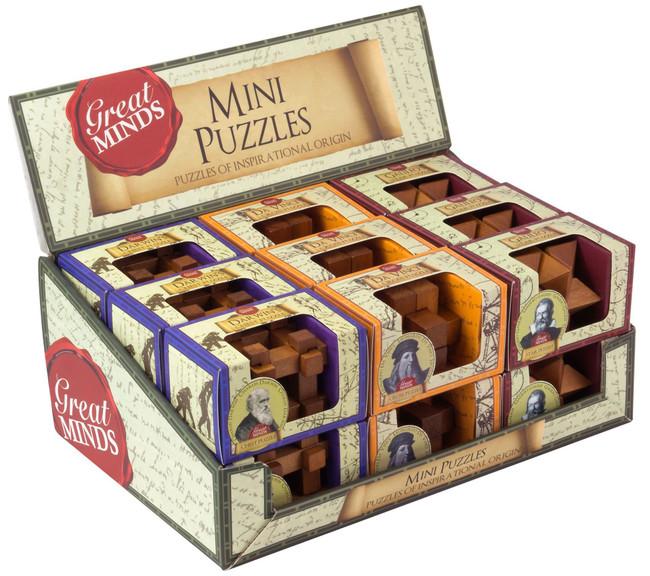 GREAT MINDS MINI WOOD Puzzles