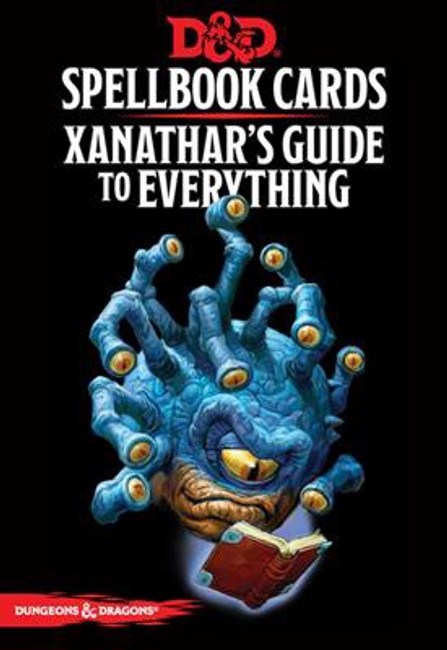 D&D: Spellbook Cards: Xanathar's Guide