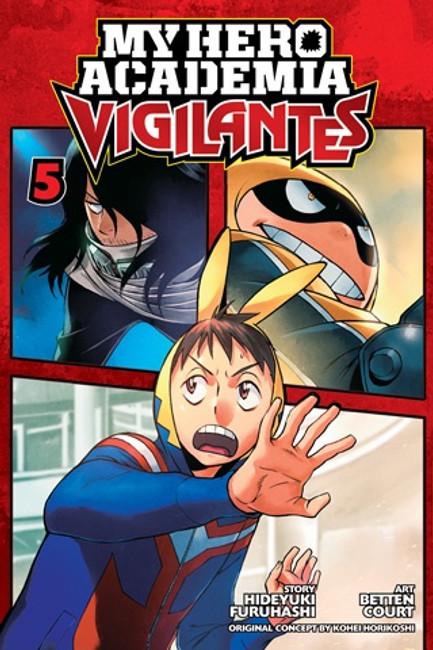 My Hero Academia Vigilantes vol 5