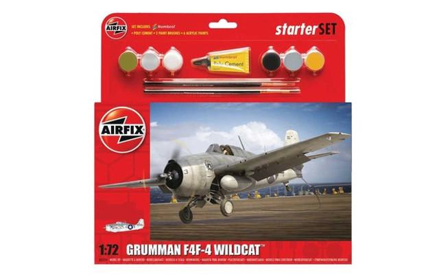 Starter Set: Grumman F4F-4 Wildcat
