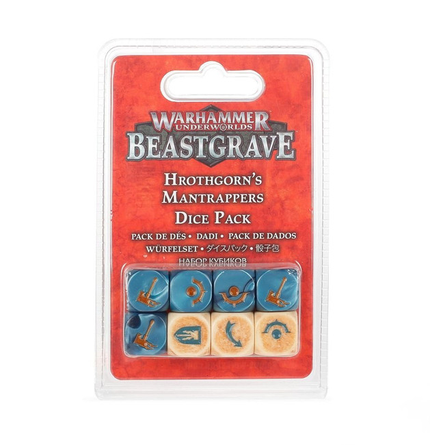 109-02 WH UnderWorlds: Hrothgron's Mantrappers Dice Set