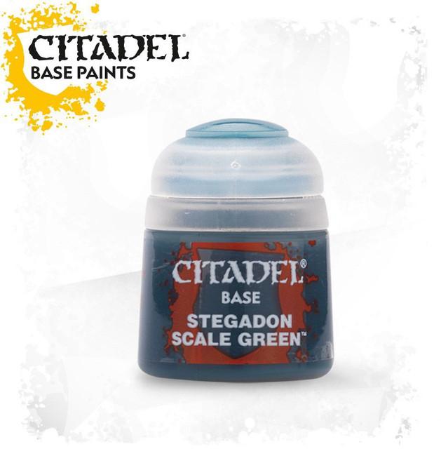 21-10 Citadel Base: Stegadon Scale Green