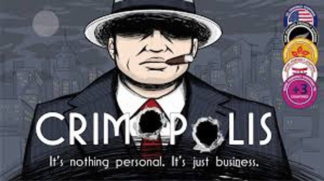 Crimopolis Deluxe Board Game