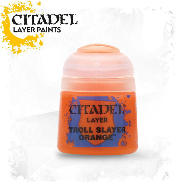 22-03 Citadel Layer: Troll Slayer Orange