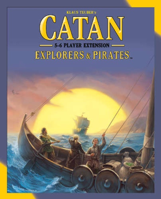 Catan Explorers & Pirates 5-6 player Extension 5th Edition
