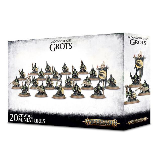 89-07 Gloomspite Gitz Grots - Shootas or Stabba
