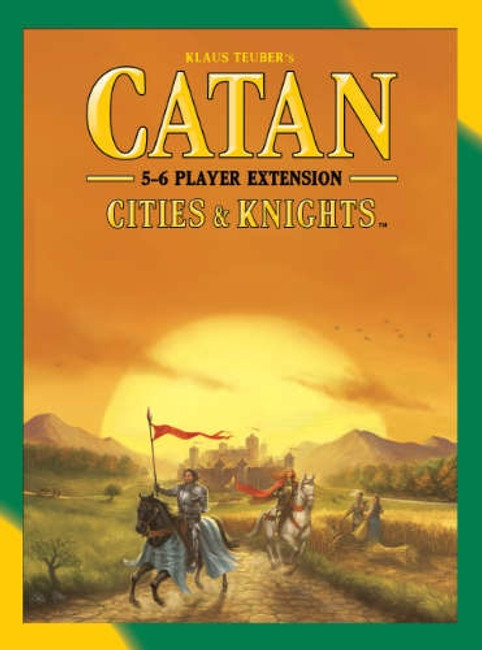 Catan Cities & Knights 5-6 player Extension 5th Edition
