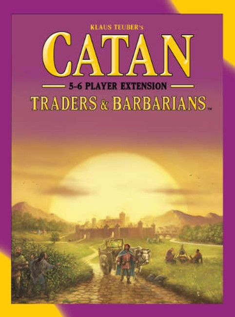 Catan Traders & Barbarians 5-6 player Extension 5th Edition
