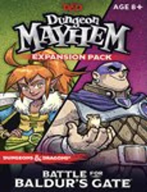 D&D Dungeon Mayhem: Battle for Baldurs Gate Expansion