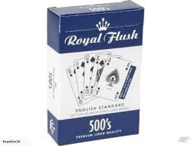 Royal Flush 500's Playing Cards
