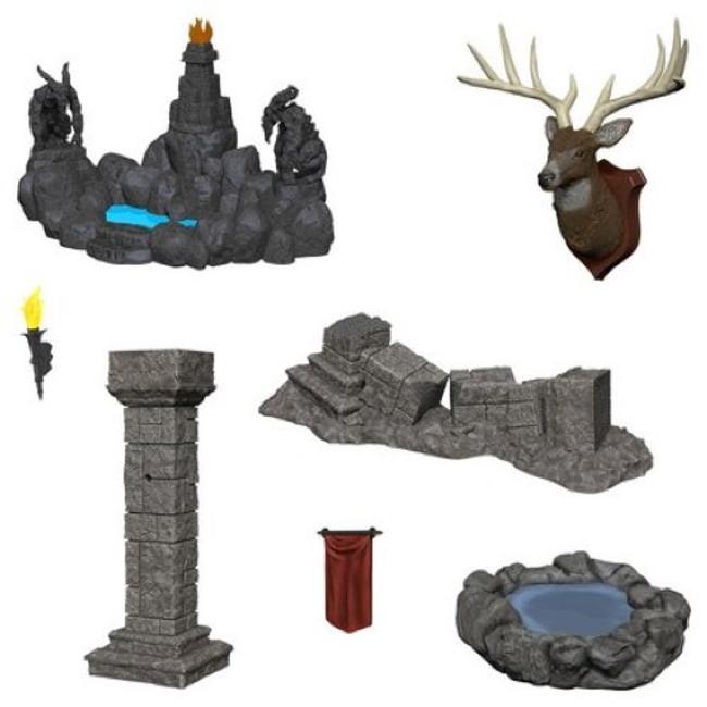 Dungeons & Dragons: Deep Cuts - Pools & Pillars Unpainted