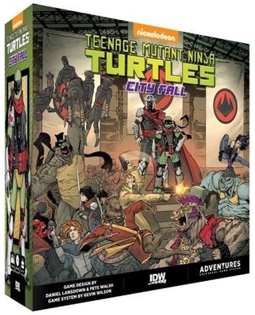 TMNT Teenage Mutant Ninja Turtles - City Fall