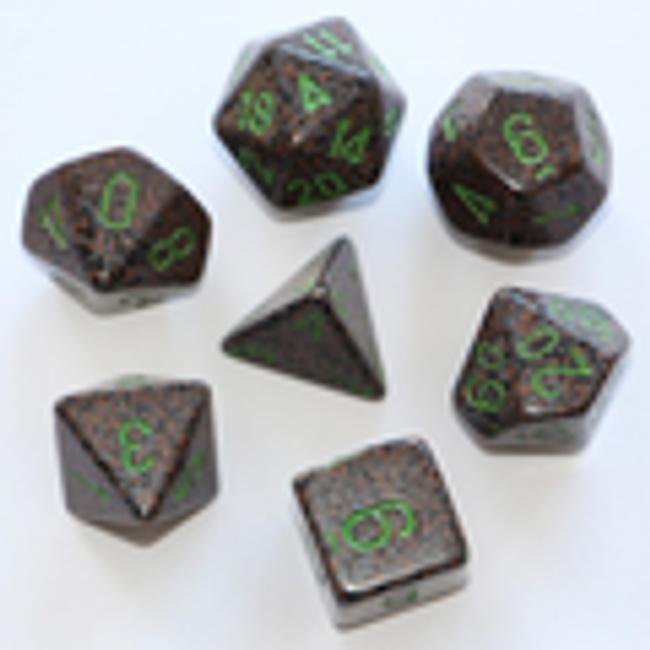 Speckled Earth Polyhedral 7-Die Set