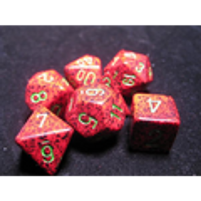 Speckled Strawberry Polyhedral 7-Die Set