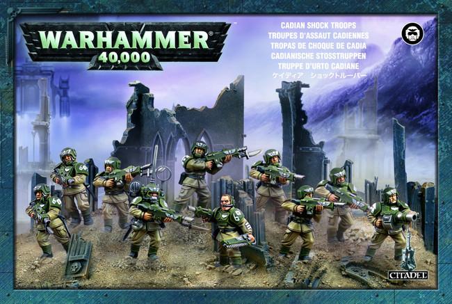 47-17 Astra Militarum Cadian Infantry Squad