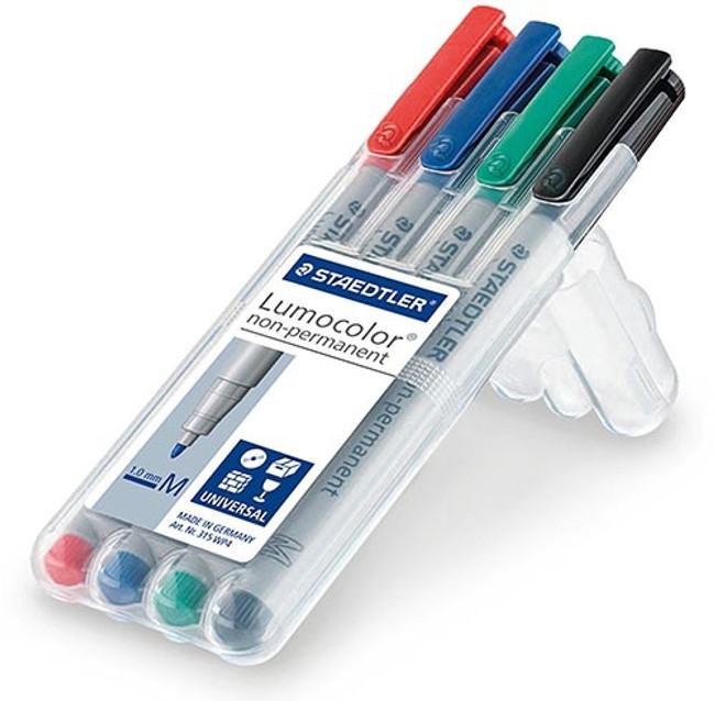 MSC Staedtler Mat Maker 4-Pack Med Tip Pens