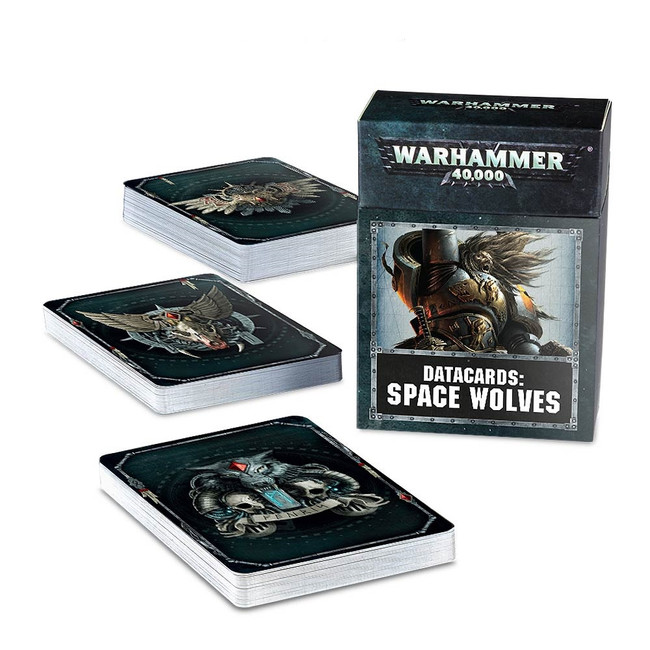 53-02-60 Space Wolves Datacards
