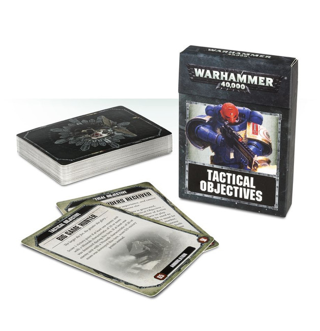 40-20 Warhammer 40000 Tactical Objectives 2017